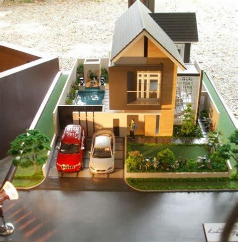 Maket Rumah cara sederhana dalam membuat maket rumah minimalis