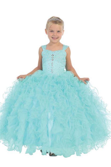 beaded flower dresses pink sleeveless ruffle organza gown flower dress with