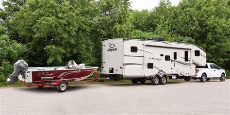 boat trailer hitch wheel jayco fifth wheel trailers ontario eagle ht fifth wheels