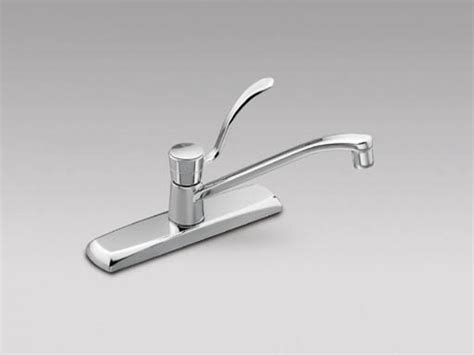 single faucet kitchen moen single handle repair kit moen commercial single handle kitchen