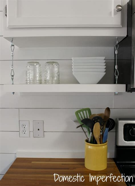 under cabinet shelving kitchen faqs domestic imperfection