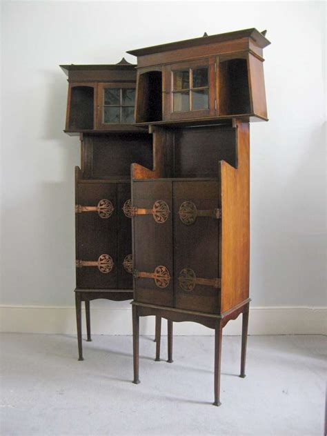 Js Cabinets by Pair Of Nouveau Cabinets Attributed To Js Henry Sold