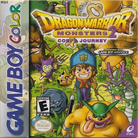 emuparadise dragon quest monster dragon warrior monsters 2 cobi s journey usa rom
