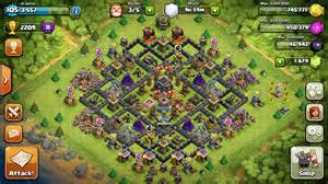 Air war defense base for town hall 9 th9 with new fancy air sweeper