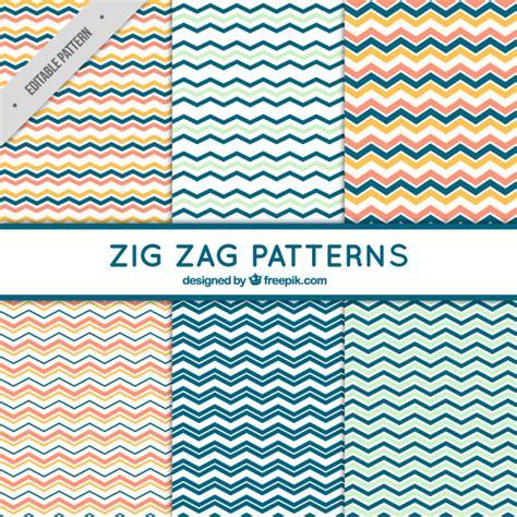 free pattern zig zag 6 zig zag patterns vector free download