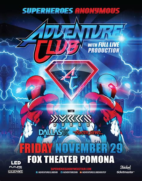 foxes adventure club adventure club fox theater pomona led my life every day