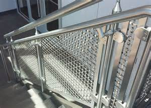 Interior Railings Home Depot Home Depot Rigid Woven Wire Mesh Interior Railing