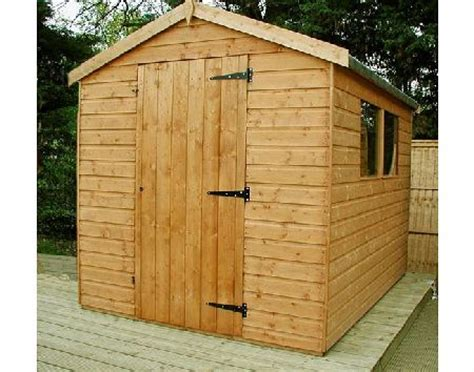 Garden Shed 8x6 Best Price by Apex Garden Shed 8x6 Review Compare Prices Buy