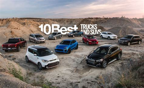 Car And Driver 10 Best Suv by 2018 10best Trucks And Suvs Our Top Picks In Every