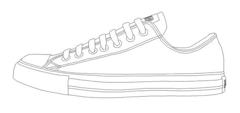 converse clipart blank pencil and in color converse