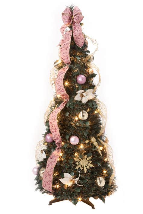 victorian style pull  christmas tree  holiday peak