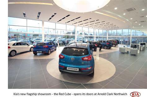 Kia Car Showroom Kia Opens Uk S Cube Global Standard Showroom