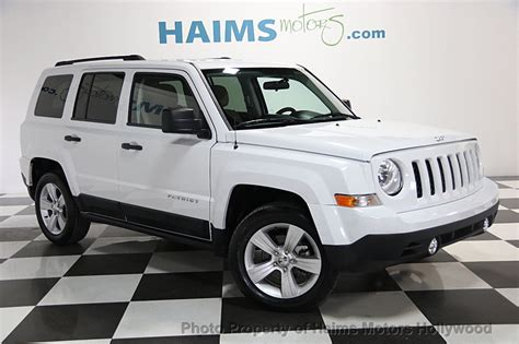 patriot jeep 2014 2014 used jeep patriot fwd 4dr altitude at haims motors