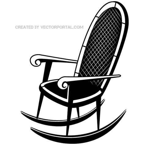 rocking chair vector clip image 123freevectors