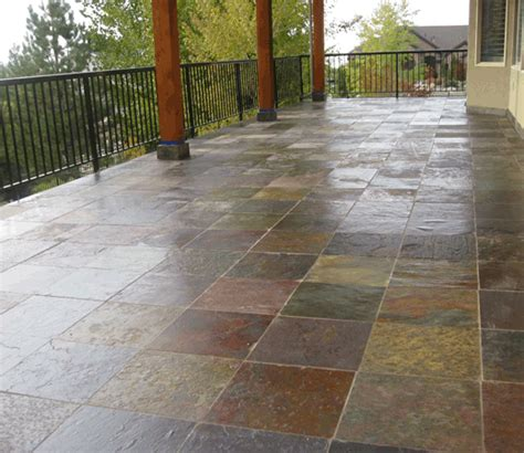 outdoor patio tile the duradek way outdoor tile an age problem with a