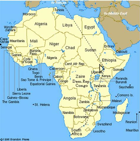 africa map falls best photos of nairobi map africa nairobi on africa map