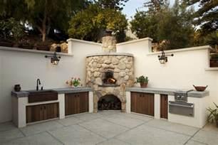 Small Outdoor Kitchen Design 17 Outdoor Kitchen Countertop Designs Ideas Design