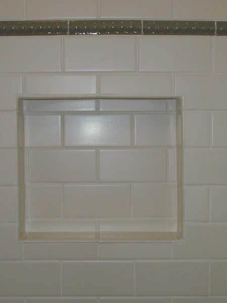 Bathroom Tile Nooks Subway Tile With Nook Tile