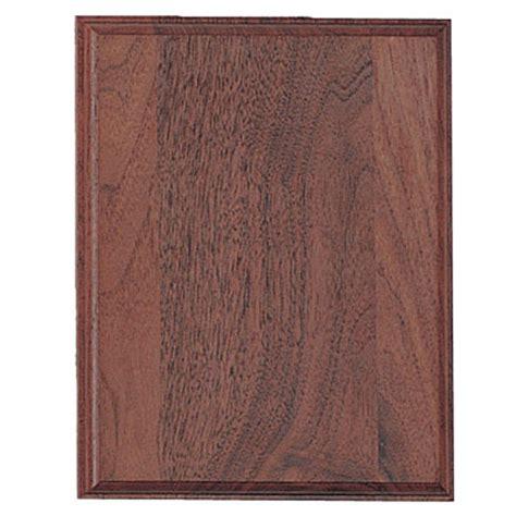8 X 10 Inch Brown Walnut Finish Plaque Board