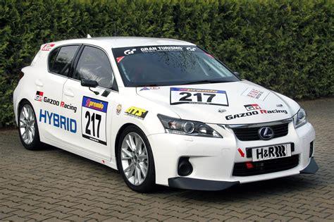 lexus racing race prepped lexus ct 200h hybrid makes debut at nurburgring