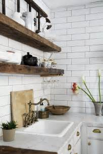 wood kitchen subway kitchen subway tiles are back in style  inspiring designs