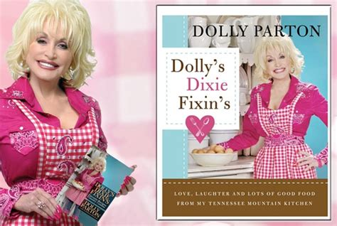 Dolly Parton Book Giveaway - quot dolly s dixie fixin s quot cookbook by dolly parton with