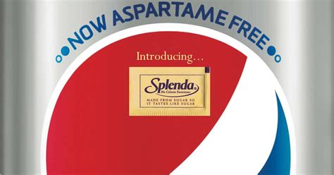 is splenda better than aspartame sweet controversy diet pepsi subs aspartame with