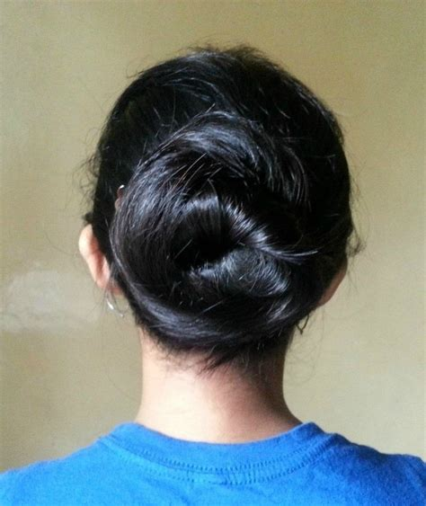 how to cut off a bun steps with images bun and hair bow 4 ways 183 how to style a hair bun