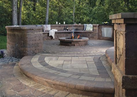 patios and firepits turn up the heat with these cozy pit patio design