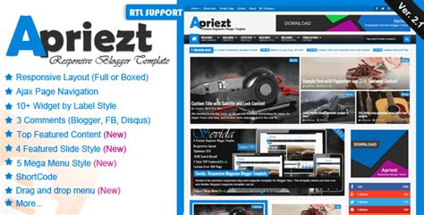 download themes blogger store v2 apriezt v2 1 responsive magazine news blogger blogspot