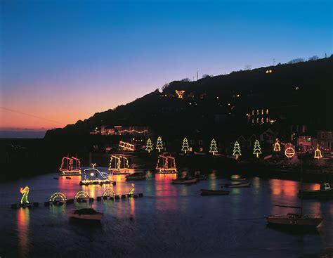 mousehole christmas lights cornish christmas valley