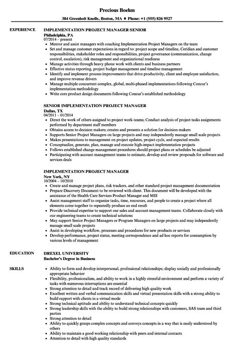 beautiful oracle erp project manager resume images