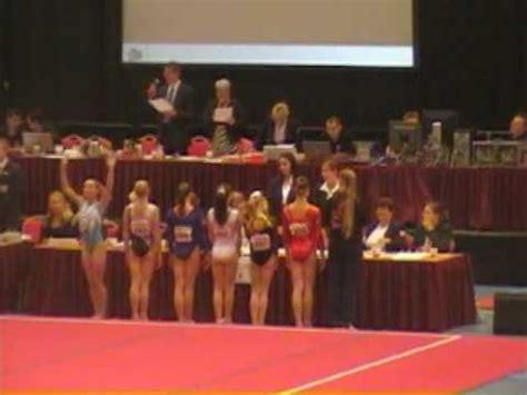 lisa top, toestelfinales nk turnen 2010 youtube
