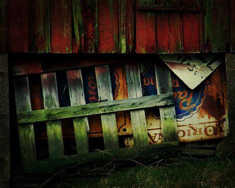 blue ribbon landscape photograph by rebecca sherman