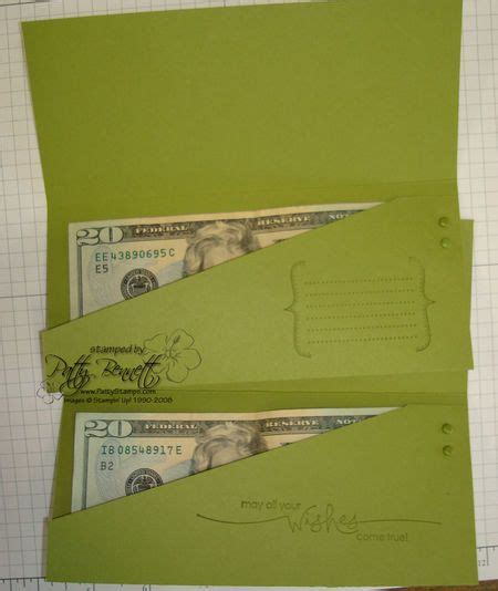Gift Card To Money - gift card holder money inside stin up note to self vertical for ribbon grad