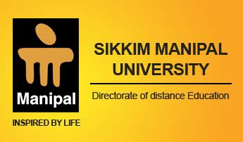 Manipal Mba Distance by Sikkim Manipal Distance Education Mba Admission