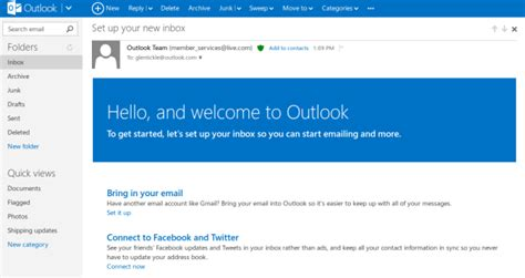 outlook email layout change hotmail absorbed by outlook the mary sue