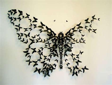 imagenes mariposas de papel mariposas recicladas muy originales para decorar en casa