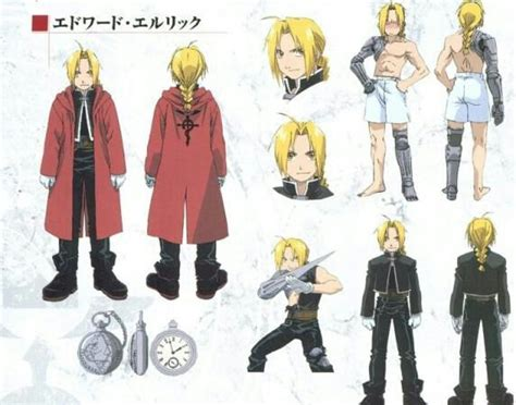 collab edward elric character analysis anime amino