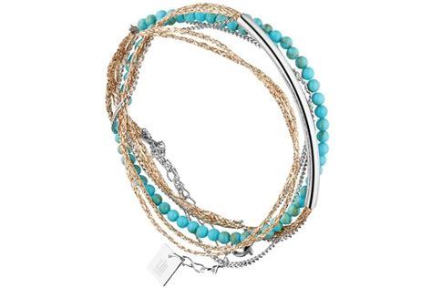 bracelet multi tour barre acier zag bijoux bijoux