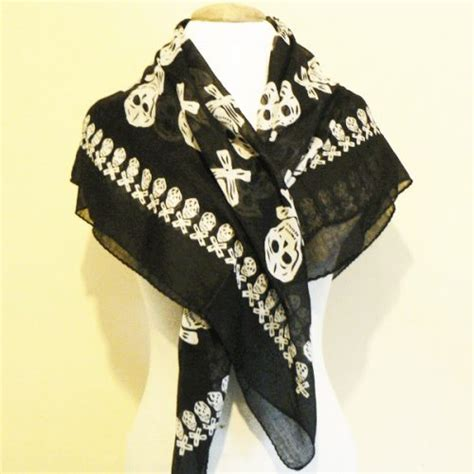 large pirate scarf the smock shop