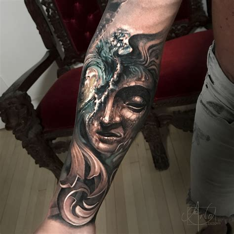 elysium tattoo artist arlo dicristina at the