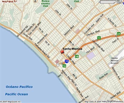 santa maps maps of santa ca