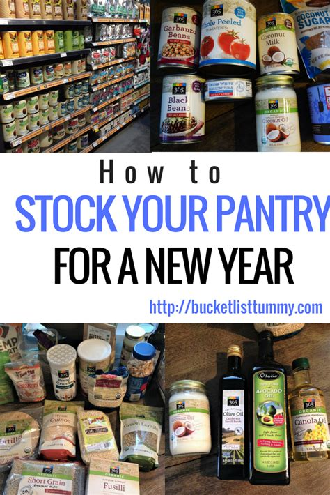 Stock Pantry by How To Stock Your Pantry For The New Year