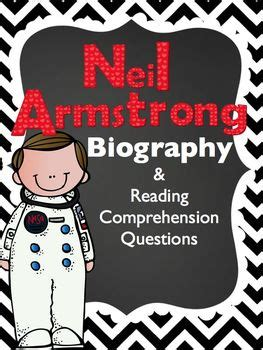 neil armstrong biography worksheet neil armstrong freebie biography article reading