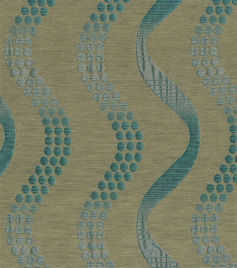 home decor print fabric elite pisa teal jo