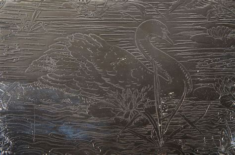 Bros Swan Lapis Green pair of sterling silver swan engraved matching platters well and tree weidlich bros for sale