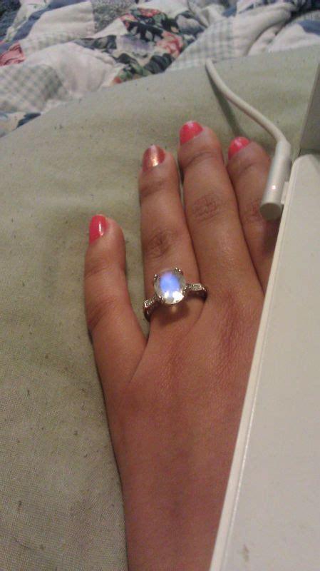 weddingbee titanium ring show me your non diamond engagement rings 171 weddingbee