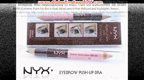 Nyx Eyebrow Push Up Bra nyx eyebrow push up bra