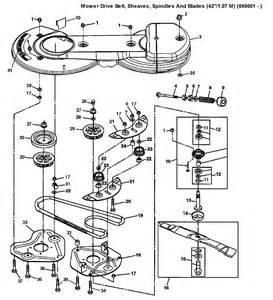 john deere lt155 deck belt diagram john free engine